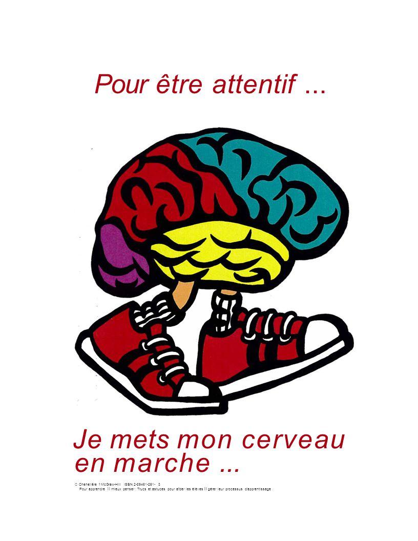 Je mets mon cerveau en marche ...