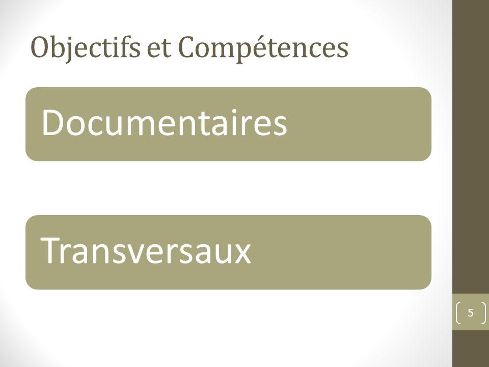 Objectifs et Compétences