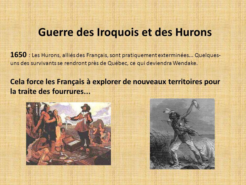 Guerre des Iroquois et des Hurons
