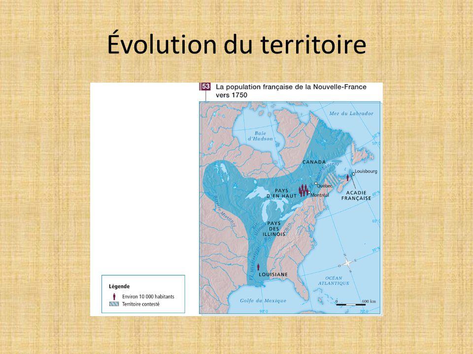 Évolution du territoire