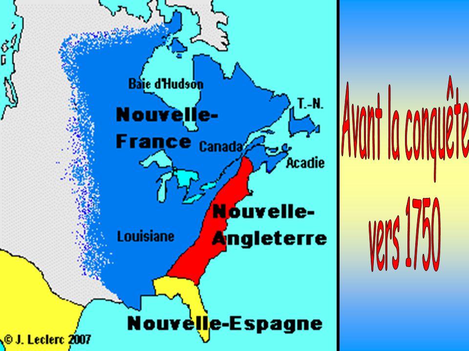 Avant la conquête vers 1750
