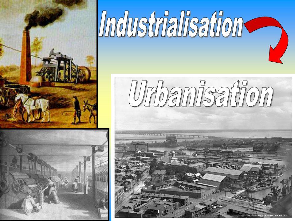 Industrialisation Urbanisation
