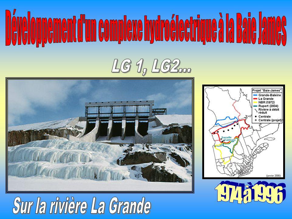 Développement d un complexe hydroélectrique à la Baie James