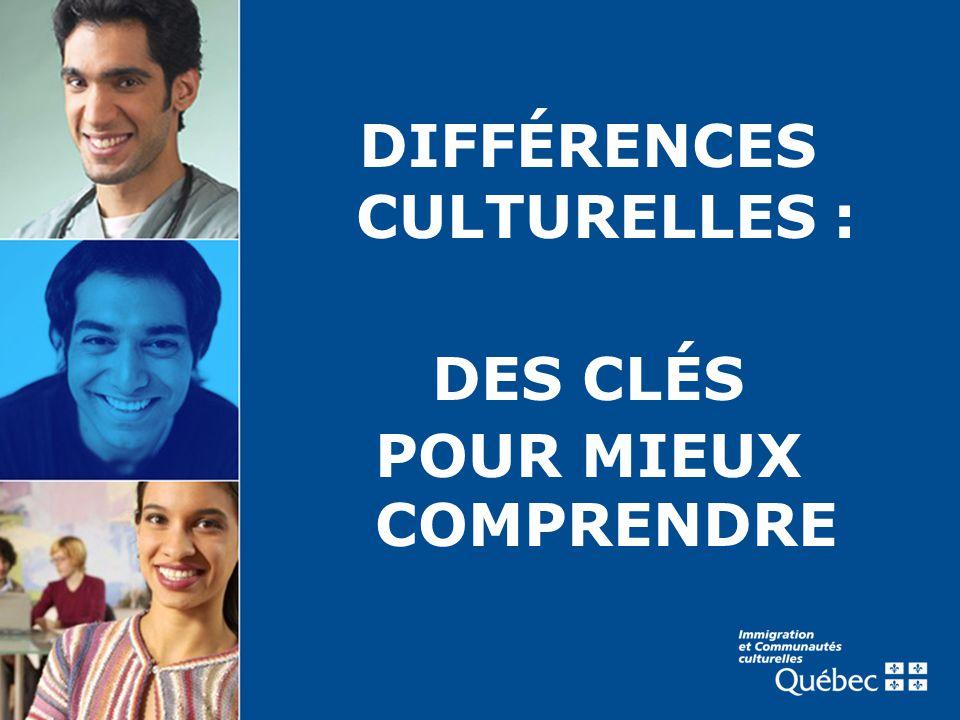 DIFFÉRENCES CULTURELLES :
