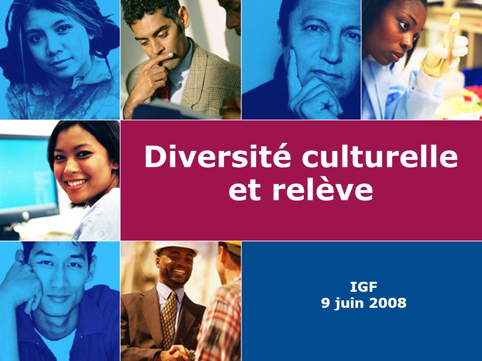 Diversité culturelle et relève
