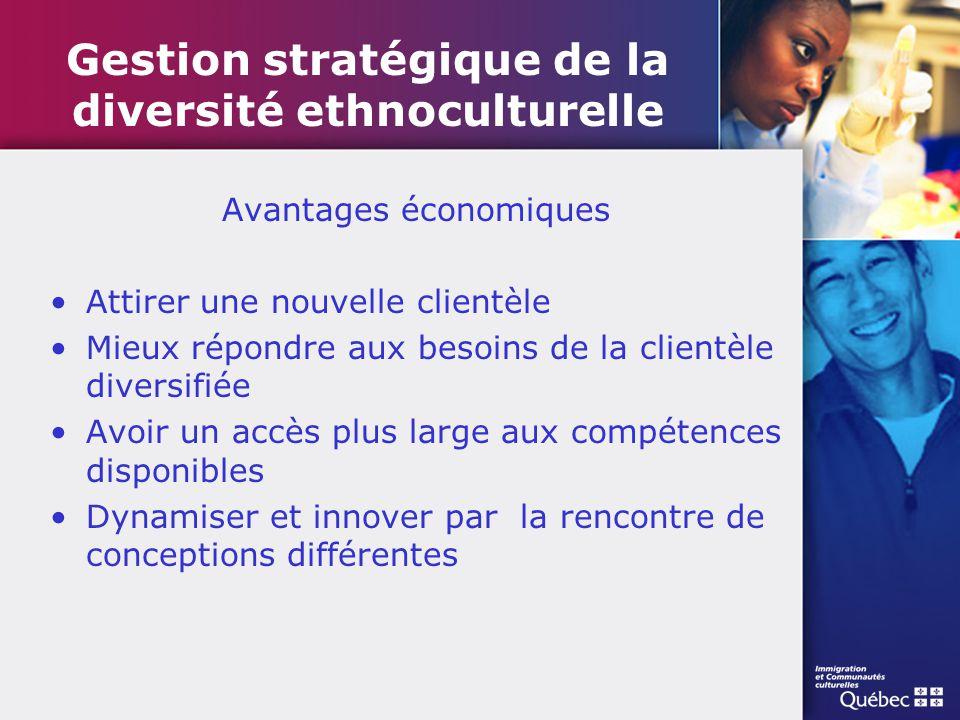 Gestion stratégique de la diversité ethnoculturelle