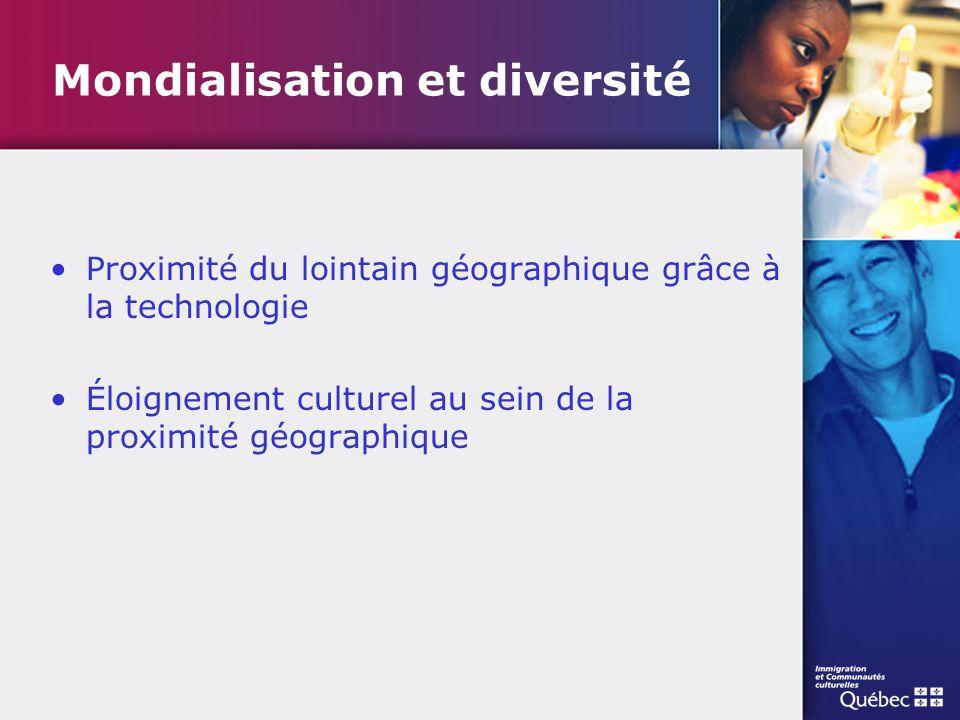 Mondialisation et diversité