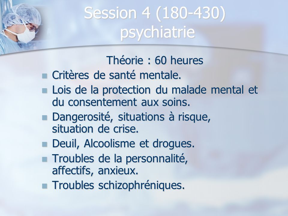 Session 4 (180-430) psychiatrie