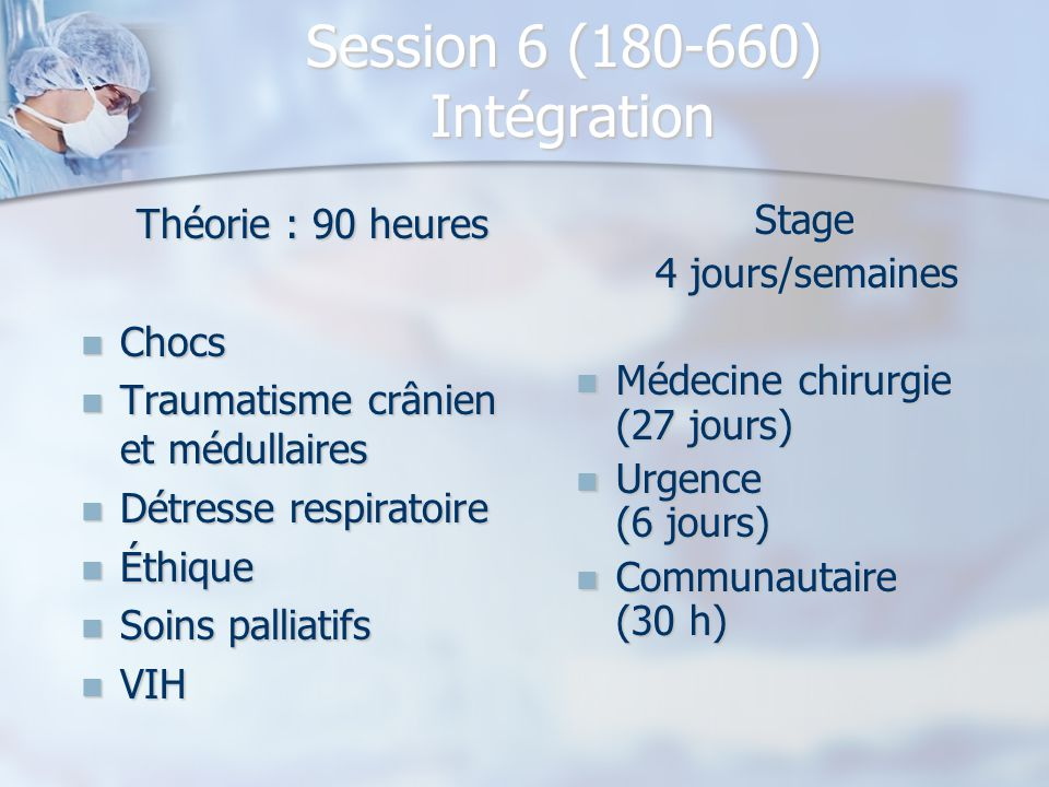 Session 6 (180-660) Intégration
