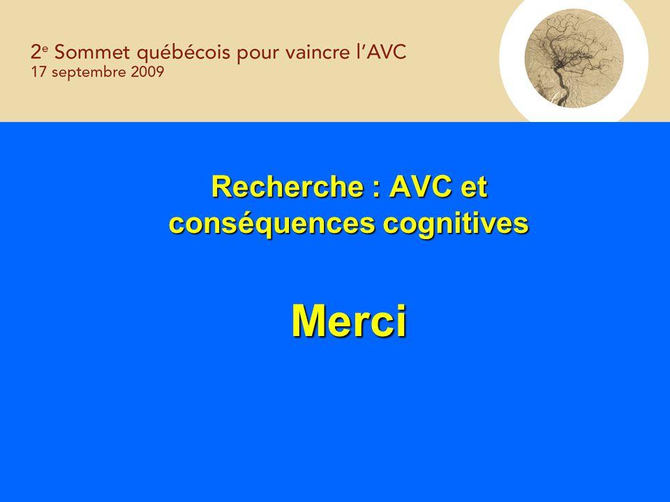 conséquences cognitives