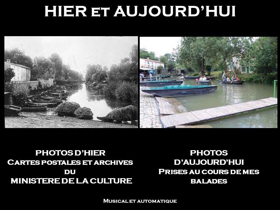 HIER et AUJOURD'HUI PHOTOS D'HIER Cartes postales et archives du