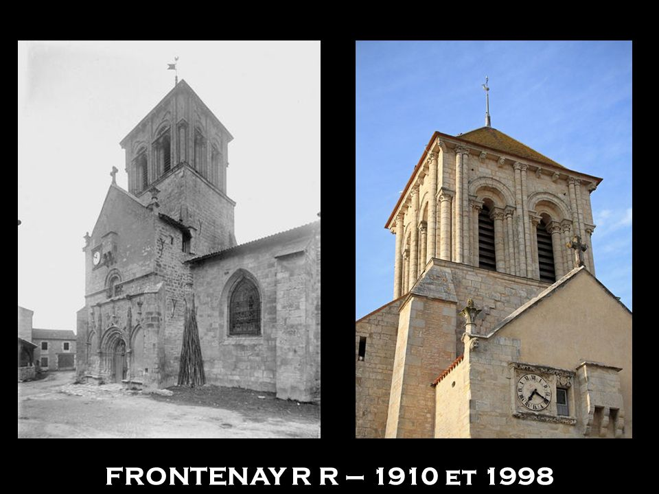 FRONTENAY R R – 1910 et 1998