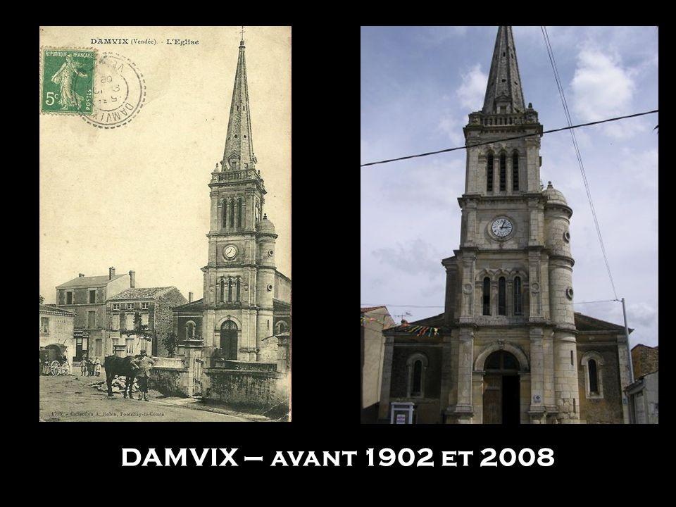 DAMVIX – avant 1902 et 2008