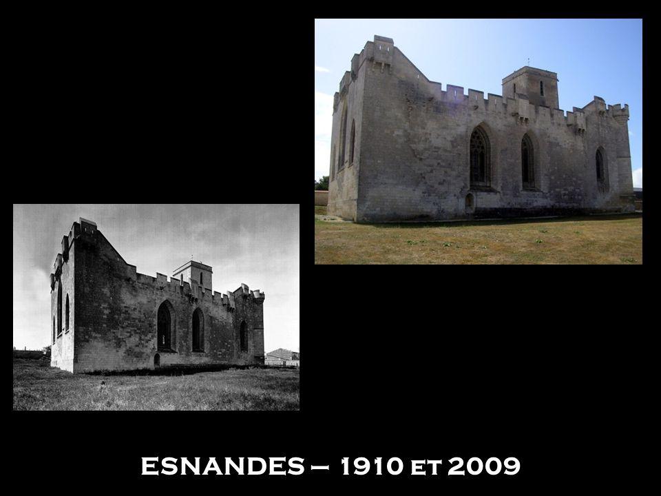 ESNANDES – 1910 et 2009