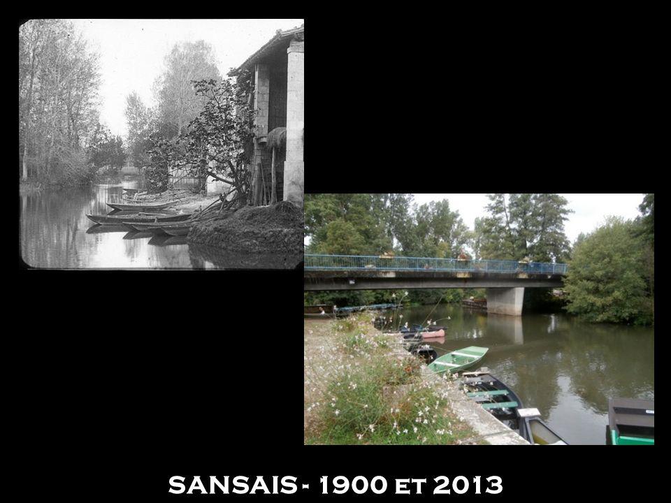 SANSAIS - 1900 et 2013
