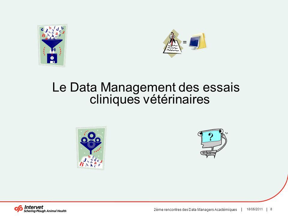 Le Data Management des essais cliniques vétérinaires