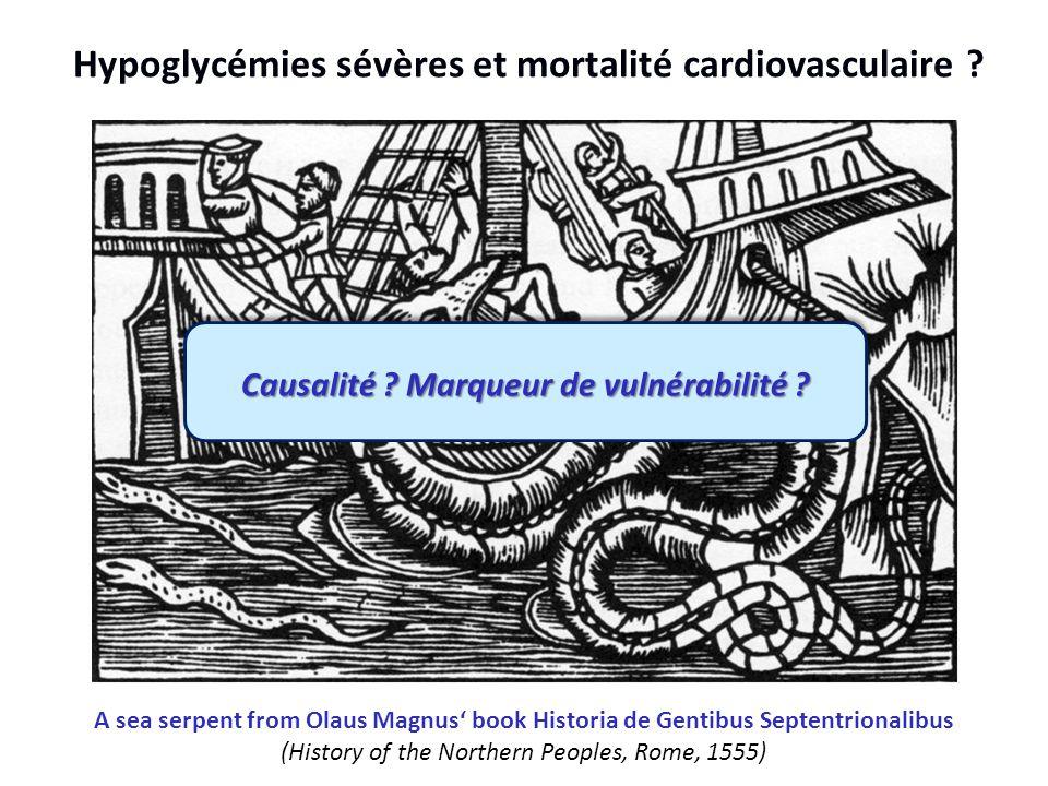 Hypoglycémies sévères et mortalité cardiovasculaire