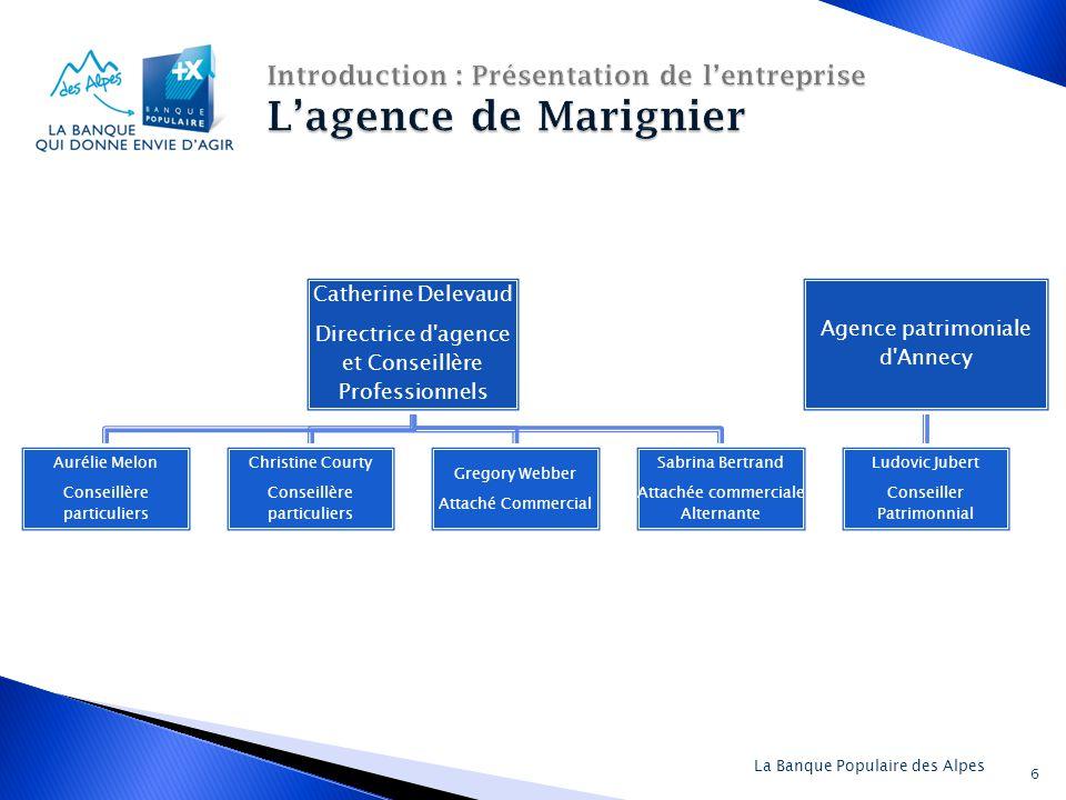 Introduction : Présentation de l'entreprise L'agence de Marignier