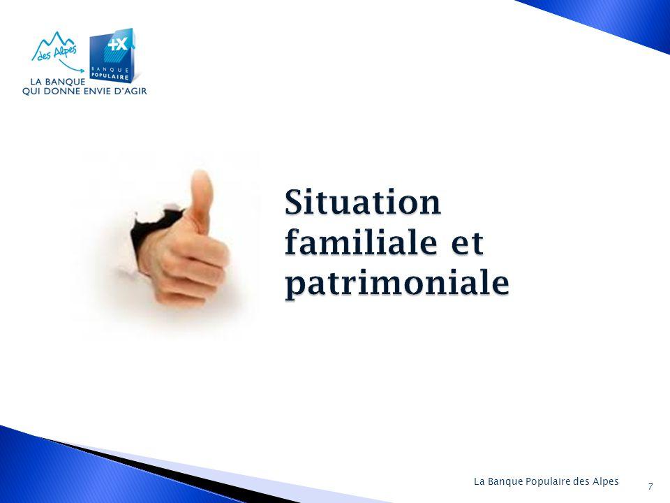 Situation familiale et patrimoniale