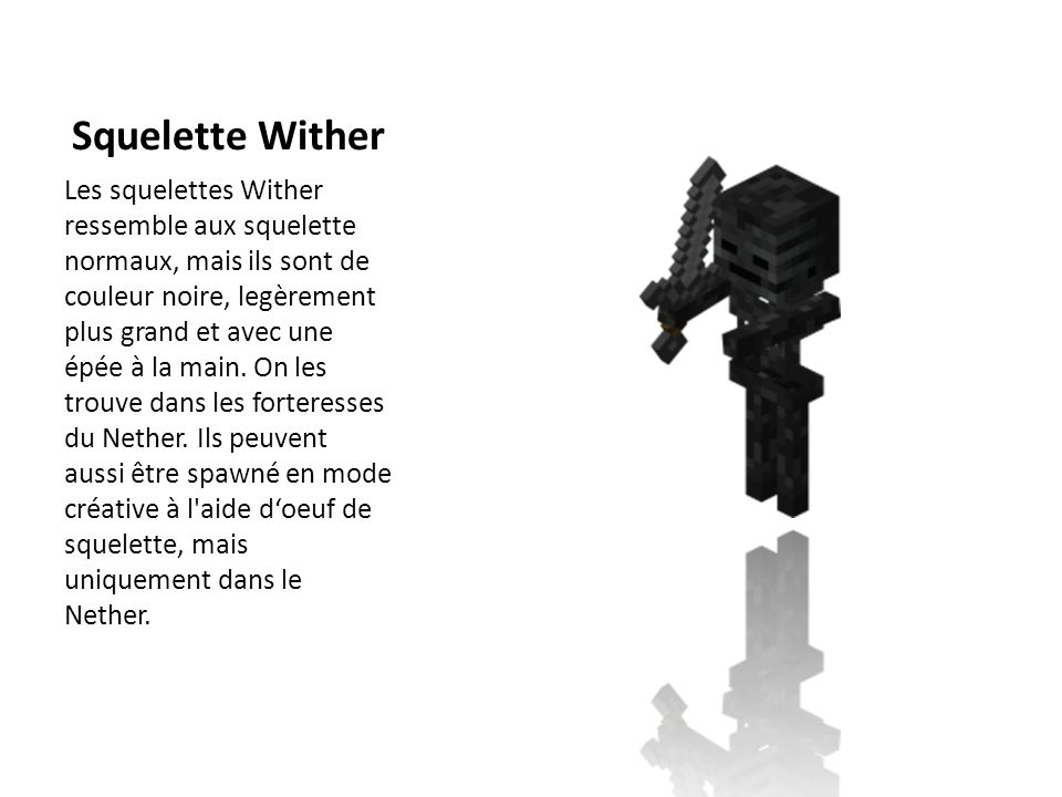Squelette Wither