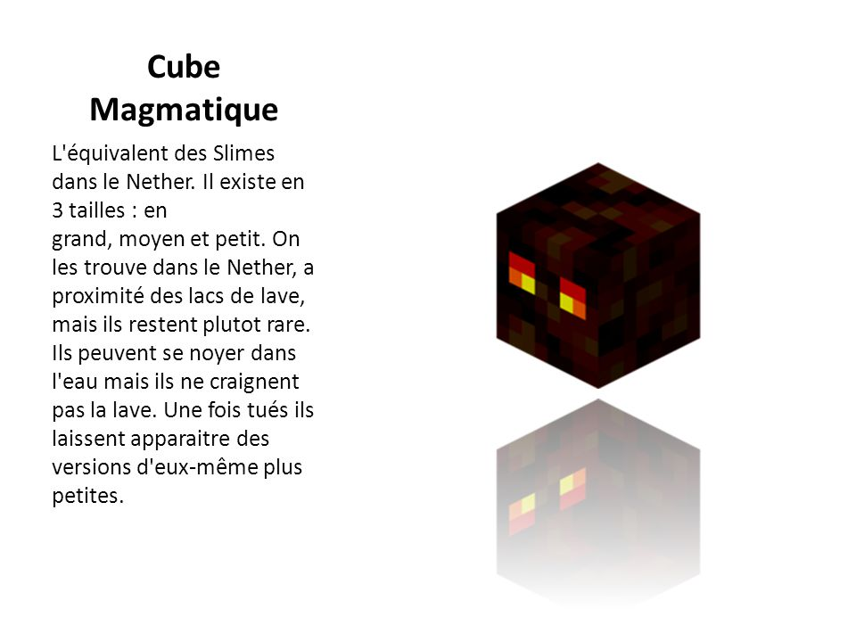 Cube Magmatique