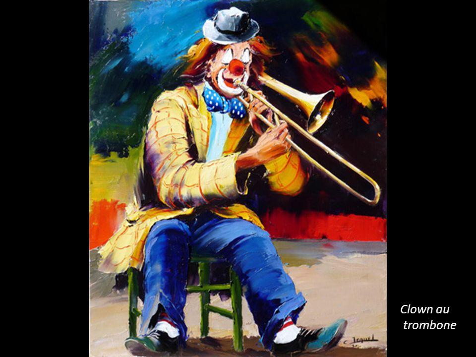 Clown au trombone