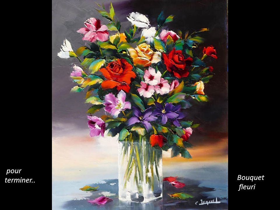 pour terminer.. Bouquet fleuri