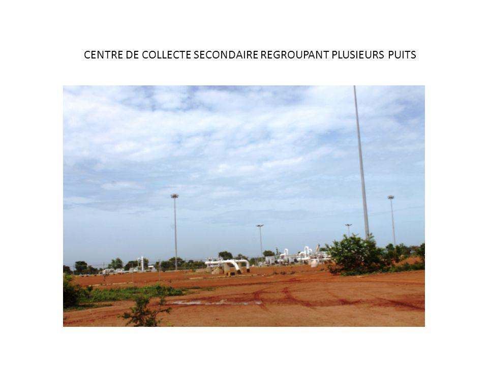CENTRE DE COLLECTE SECONDAIRE REGROUPANT PLUSIEURS PUITS