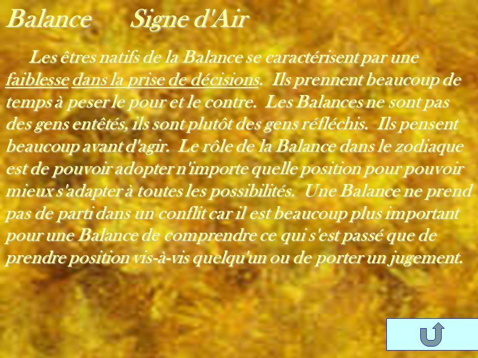 Balance Signe d Air