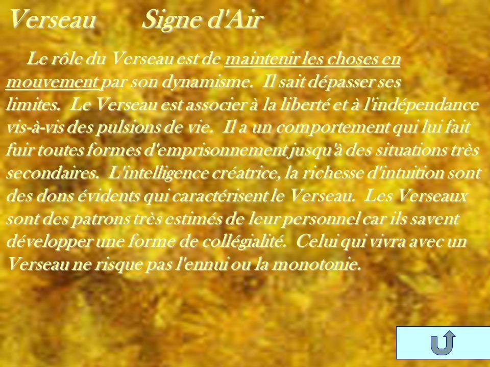 Verseau Signe d Air