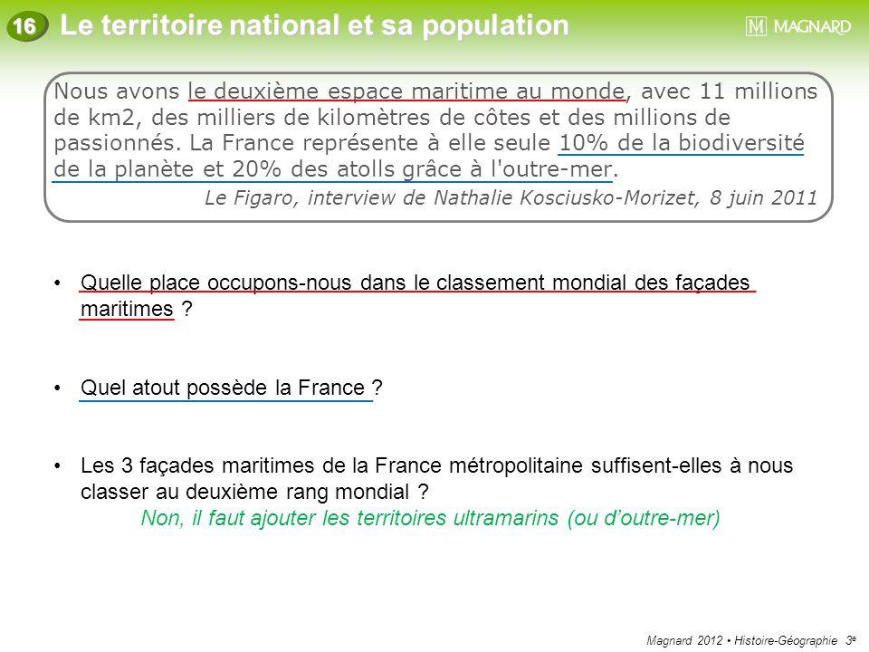 Quel atout possède la France