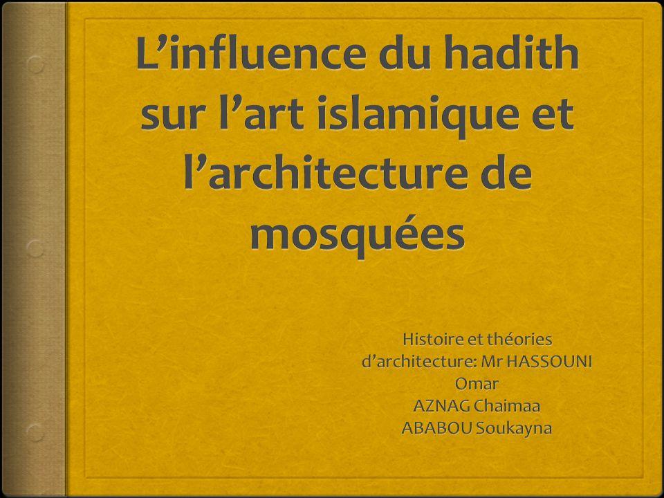 Histoire et théories d'architecture: Mr HASSOUNI Omar