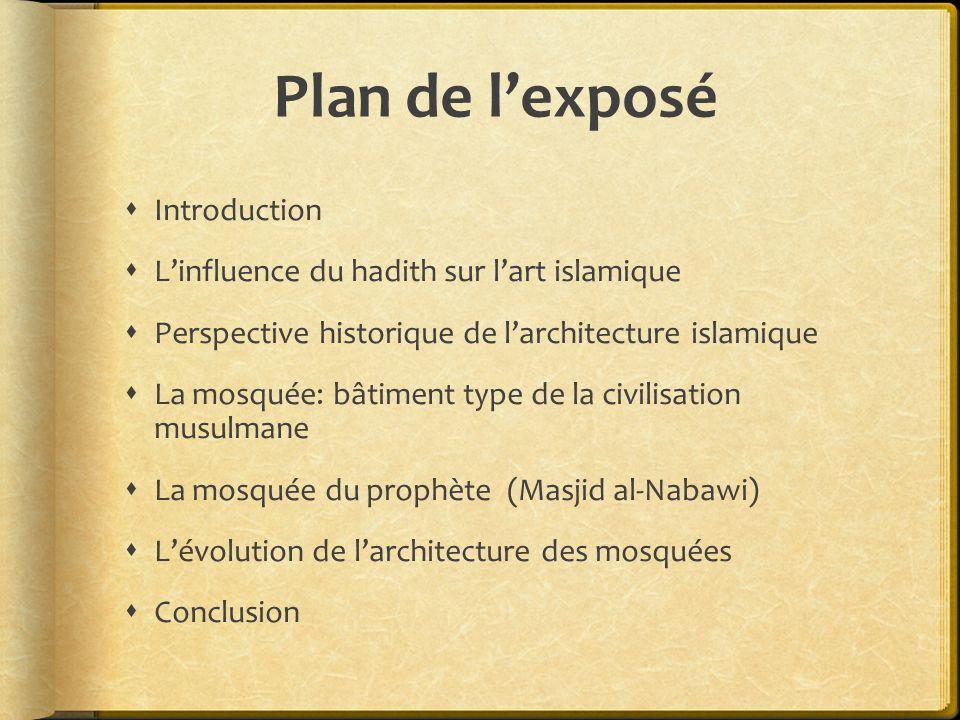 Plan de l'exposé Introduction