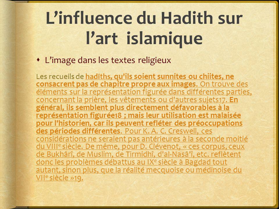 L'influence du Hadith sur l'art islamique