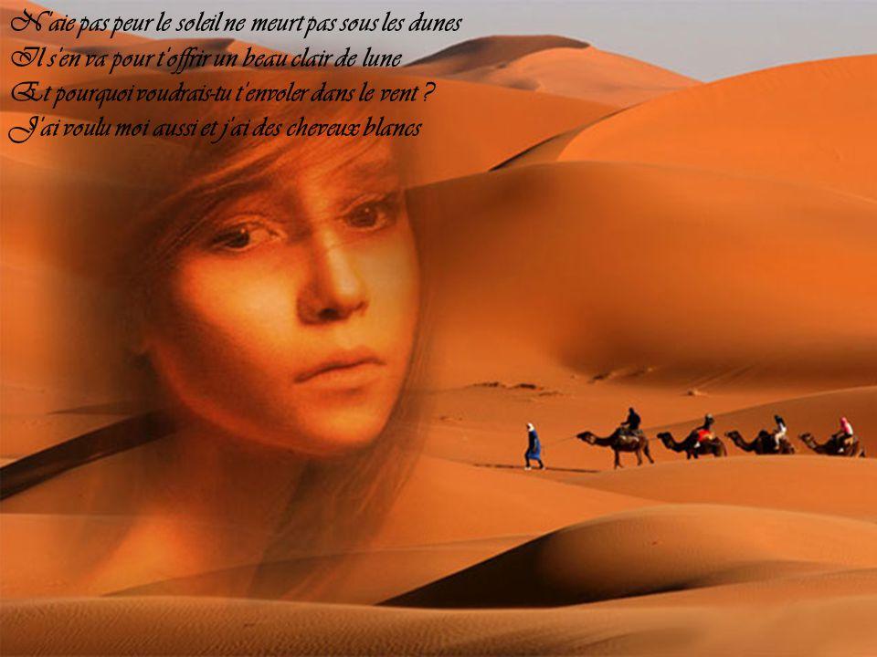 N aie pas peur le soleil ne meurt pas sous les dunes