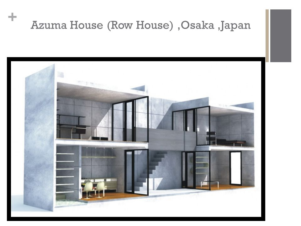 Azuma House (Row House) ,Osaka ,Japan