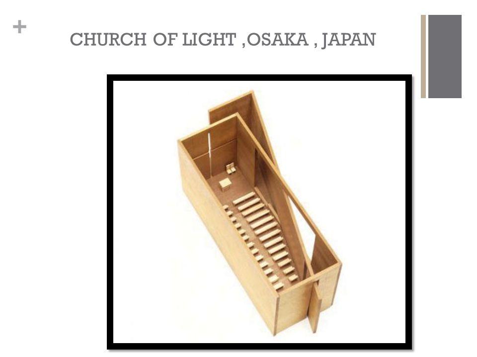 CHURCH OF LIGHT ,OSAKA , JAPAN