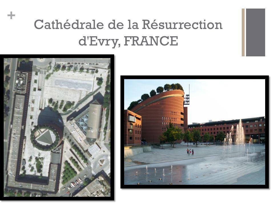 Cathédrale de la Résurrection d Evry, FRANCE