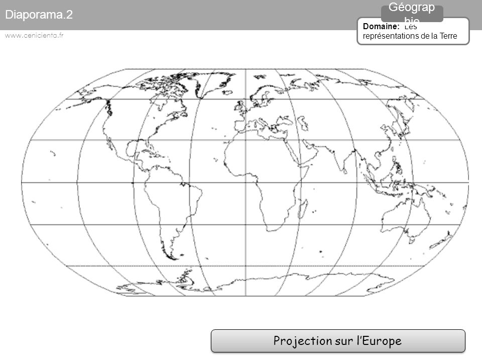 Projection sur l'Europe
