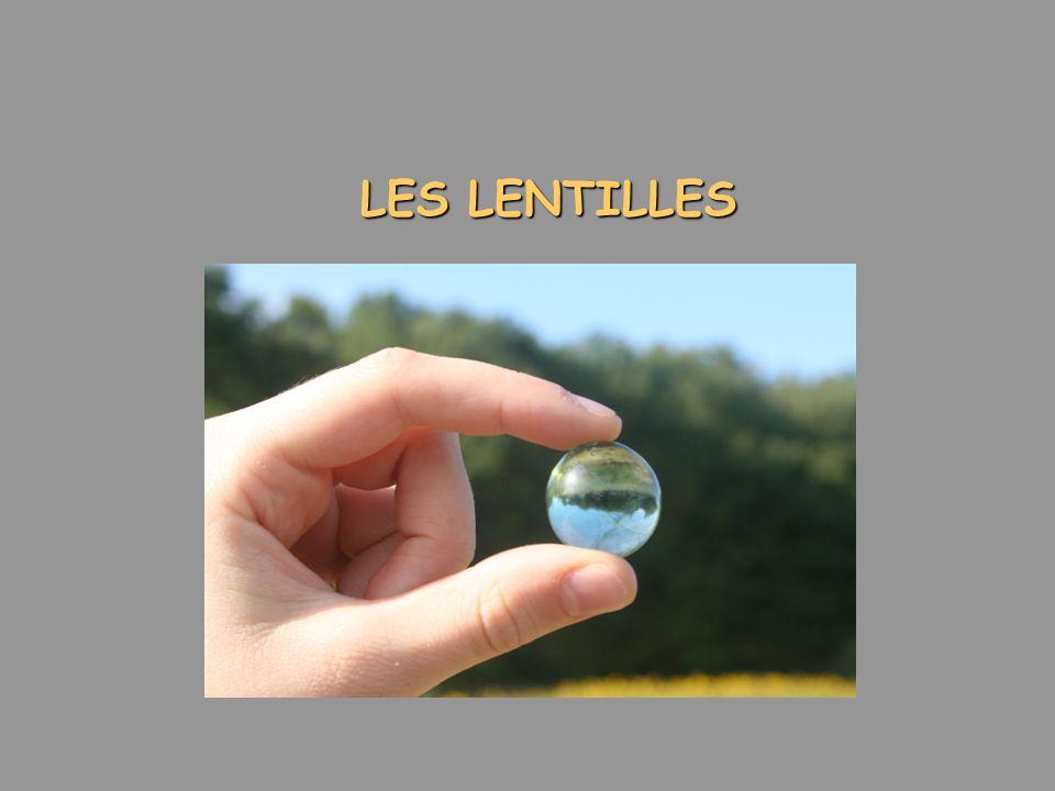 LES LENTILLES