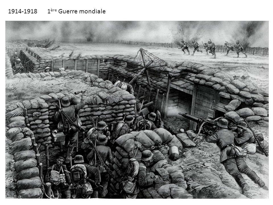 1914-1918 1ère Guerre mondiale