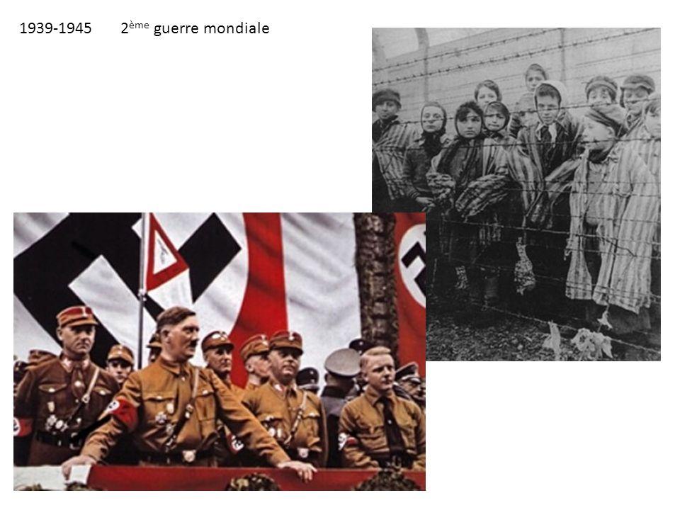 1939-1945 2ème guerre mondiale