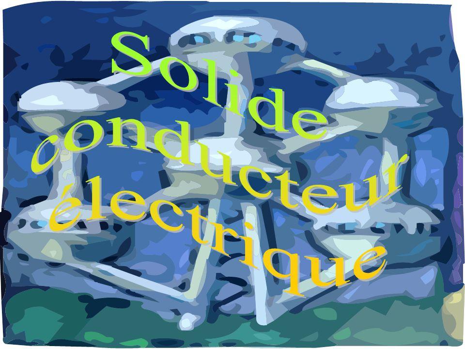 Solide conducteur électrique