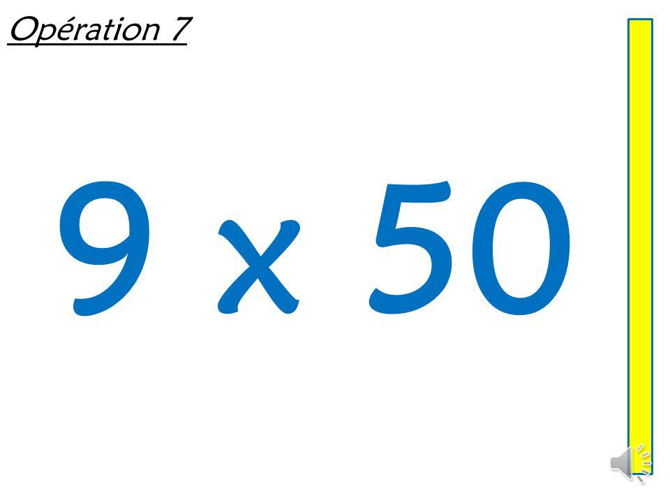Opération 7 9 x 50