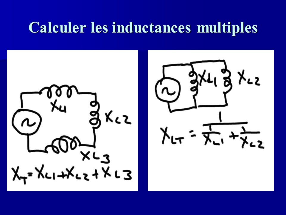 Calculer les inductances multiples