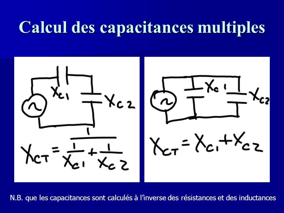 Calcul des capacitances multiples
