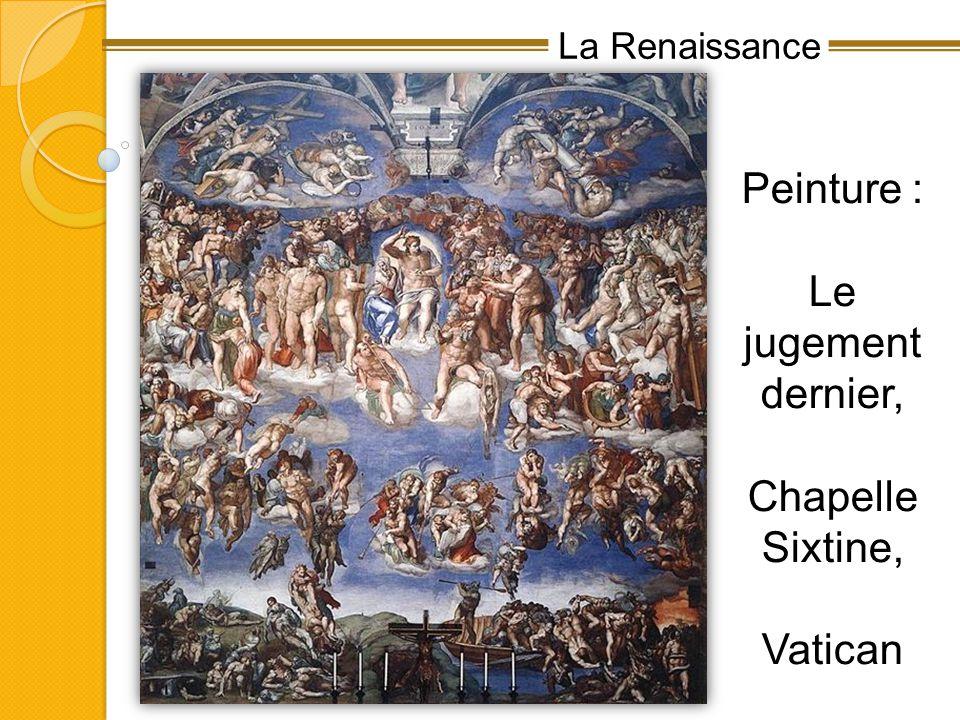 Peinture : Le jugement dernier, Chapelle Sixtine, Vatican