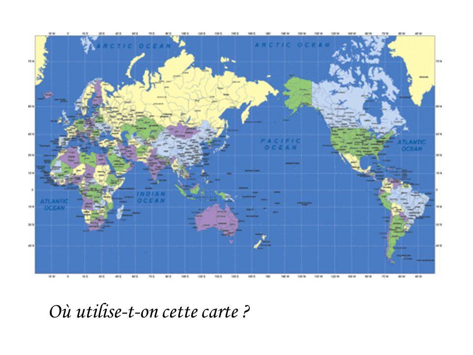 Où utilise-t-on cette carte