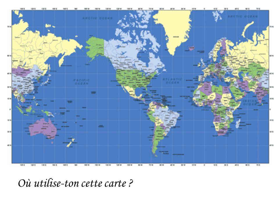 Où utilise-ton cette carte