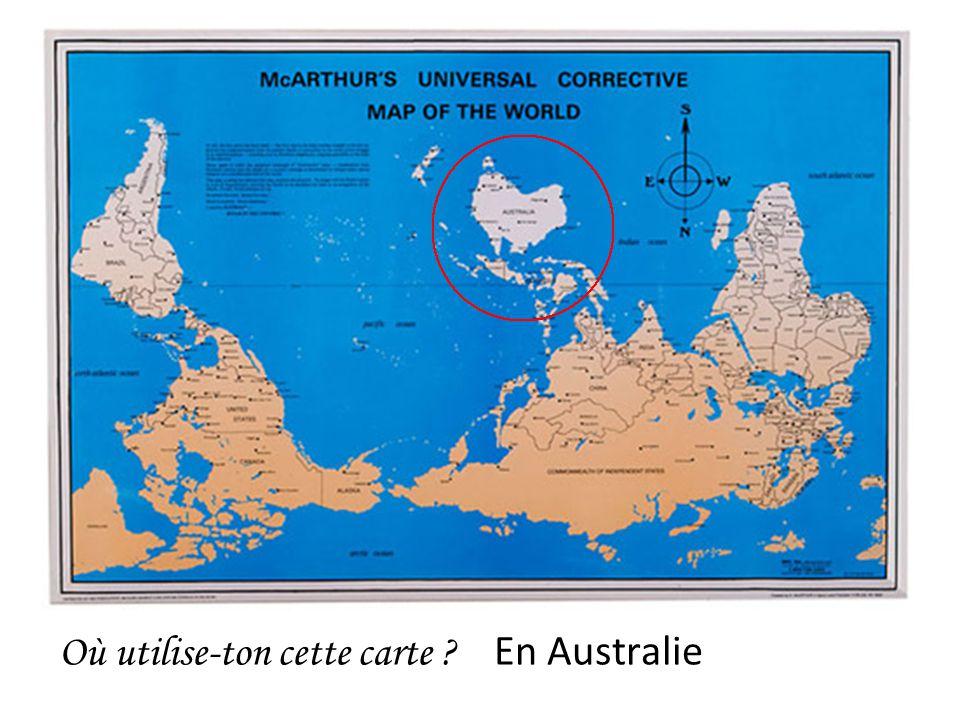 Où utilise-ton cette carte En Australie